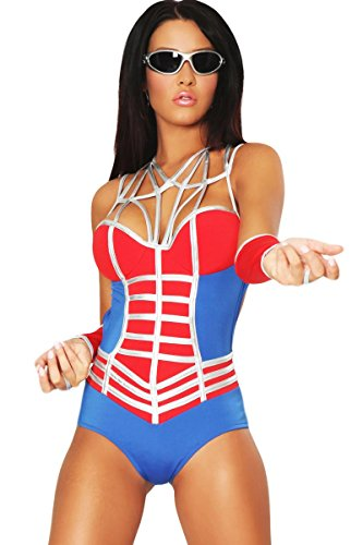 3WISHES 'Web of Desire Costume' Sexy Super Hero Costumes for Women
