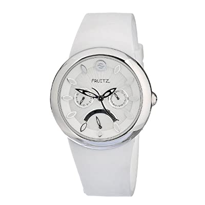 Philip Stein Women's F43S-W-W Quartz Stainless Steel White Dial Watch