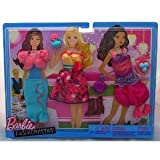 Mattel Barbie Fashionistas Day Looks Clothes - Tea Party Outfits