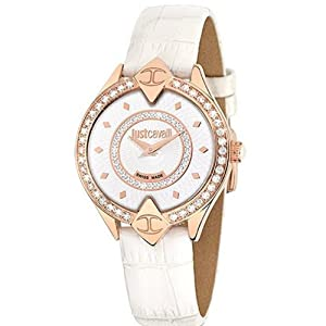 Just Cavalli R7251590502 Women's Sphinx Silver Dial Watch