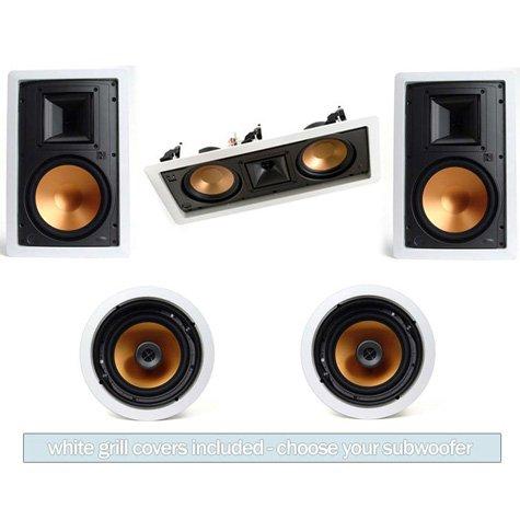 Klipsch R-5800-W In Wall System #2 (R-5502-W)