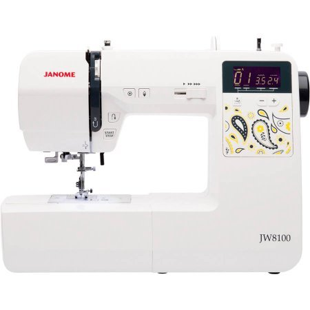 Janome JW8100 100-Stitch Fully-Featured Computerized Sewing Machine (Elna Sewing Machine Manual compare prices)