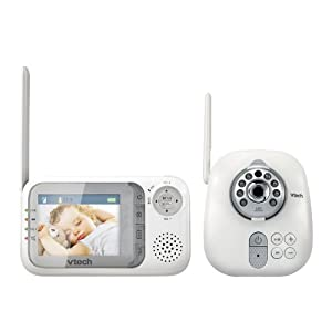 VTech Communications Safe & Sounds Full Color Video and Audio Monitor