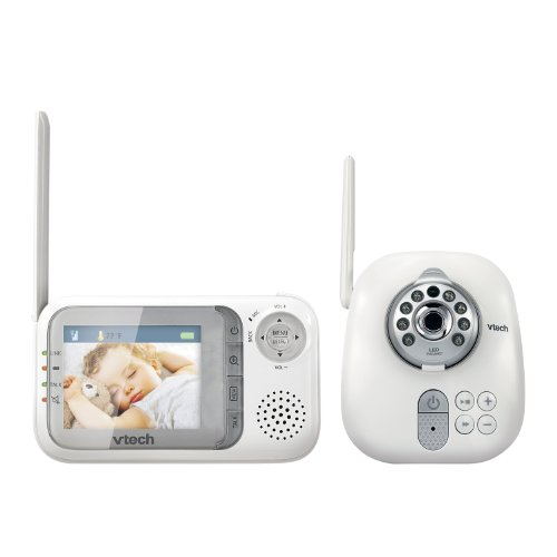 vtech vm321 safe sound video baby monitor reviews questions answers top rated best baby. Black Bedroom Furniture Sets. Home Design Ideas