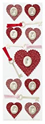 Martha Stewart Crafts Glitter Heart And Key Stickers