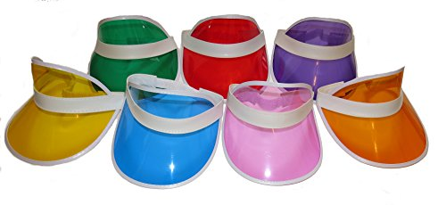 1980s Style Visors. Ideal for 80s parties and dress-up.