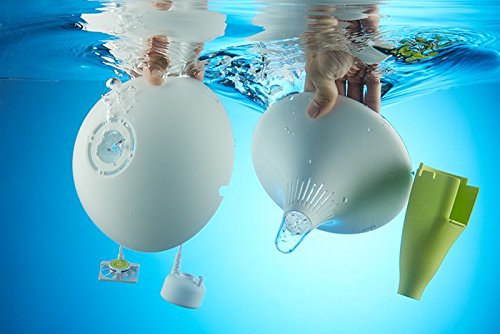 水に浮かべるクリーンな加湿器 MIRO CleanPot (グリーン) CP15JP