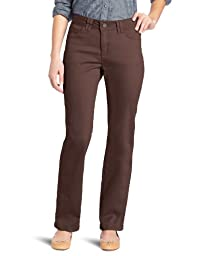 Lee Women\'s Classic Fit Jackie O Straight Leg Pant, French Roast, 16