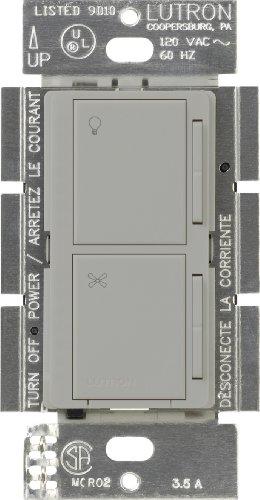 Lutron Ma-Alfq35-Gr Maestro Companion Fan And Light Control, Gray