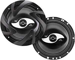 Dual DS652 100-Watt 2-Way 6.5-Inch DS Series 2-Way Car Speaker System