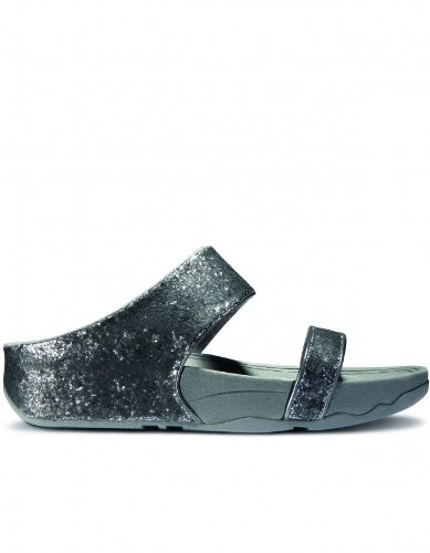 FitFlop Sandals Ciela Slide Pewter Pewter UK3