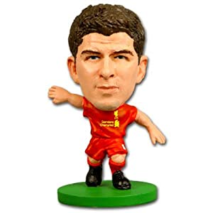 Liverpool FC. Steven Gerrard SoccerStarz Figure with Collectors Card by Liverpool F.C.