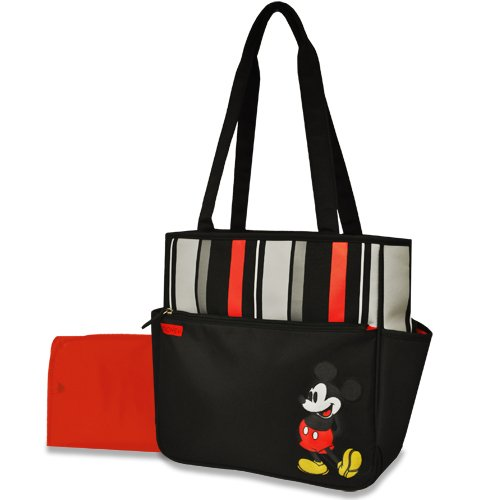 Disney Stripe Tote, Mickey - 1