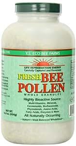 Fresh Bee Pollen Whole Granules - 16 oz. - Granules