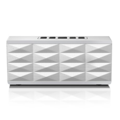 Eagle Tech Arion Portable Bluetooth Speaker With Built-In Speakerphone (White) Color: White