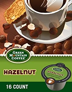 Green Mountain Hazelnut Coffee Keurig Vue Portion Pack, 32 Count