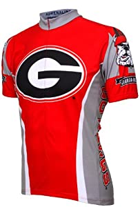 NCAA Georgia Bulldogs Cycling Jersey by Adrenaline Promotions