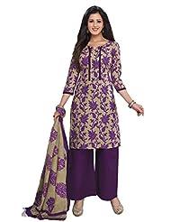 AASRI Women Cotton Unstitched Salwar Suit - B015N8PHGU