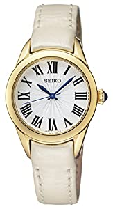 Seiko Women's SRZ384S Dress Quartz Watch with Cabochon Crown