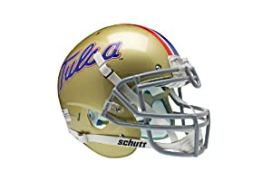 NCAA Tulsa Golden Hurricane Authentic XP Football Helmet by Schutt