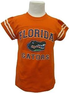 Garb NCAA Florida Gators Girl's Toddler Olivia Tee (5T, Orange)