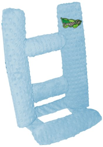 Snuggin Go Therapeutic Infant Seating Support, Light Blue