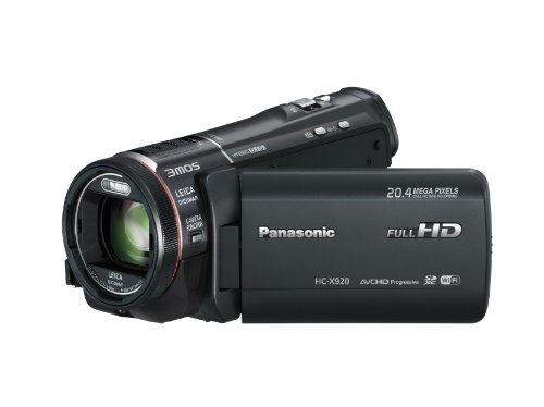 Panasonic X920  Full HD Camcorder