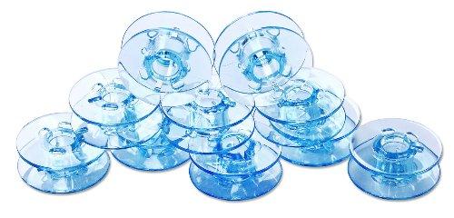 Spulen blau, 10 Stück für PFAFF