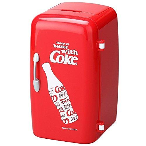 Coca-Cola(コカ・コーラ) 冷蔵庫型ペンスタンド レッド