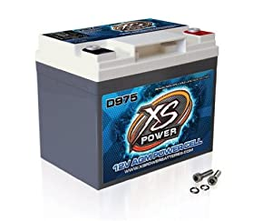 XS Power D975 XS Series 12V 2,100 Amp AGM High Output Battery with M6 Terminal Bolt