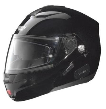 Nolan N44 Trilogy Outlaw Helmet (Metal Black, X-Large)