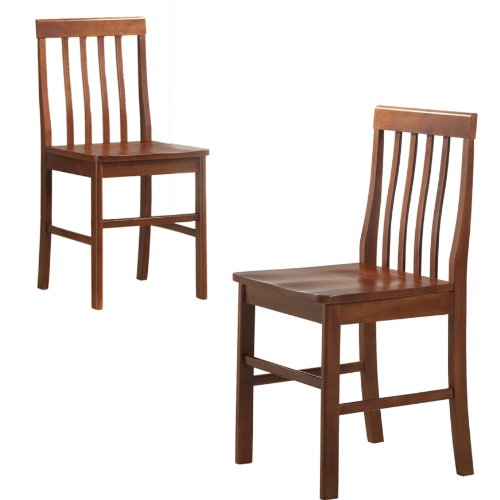 Cheap Wood Dining Chairs: Dining Room Sets: Walker Edison Solid Wood Dining Chairs