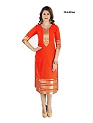 V & M Fashion Women's COTTON Dress material ( FENTA )