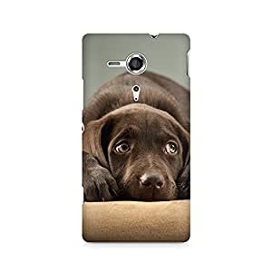 Mobicture Dog Rest Premium Printed Case For Sony Xperia SP M35H