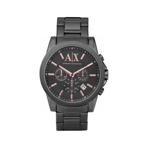 Armani Exchange Gents Stainless Steel Chronograph Watch AX2086