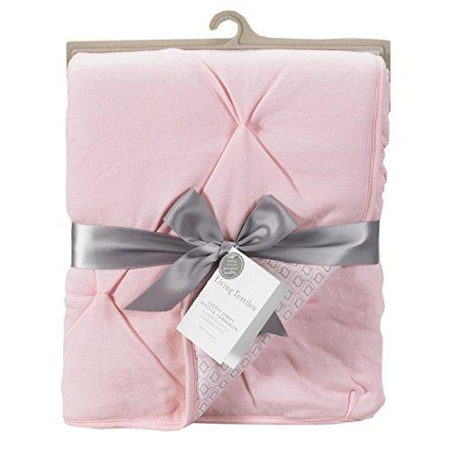 Living Textiles Jersey Pintuck Comforter, Pink/Koko Rose