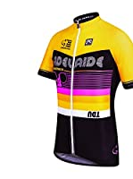 Santini Maillot Ciclismo TDU ADelaDe (Amarillo)