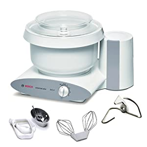 Bosch MUM6N10UC+MUZ6CP2 Universal Plus Stand Mixer with Cookie Paddles and Metal Whip... by Bosch