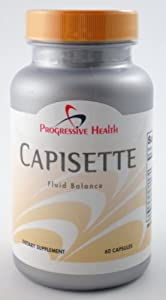 Capisette 60 Caps Natural Edema Balance Stop Swelling
