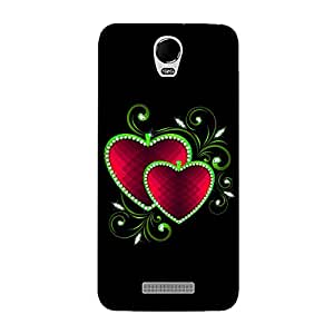 FASHEEN Premium Designer Soft Case Back Cover for Micromax Canvas Juice 2 AQ5001