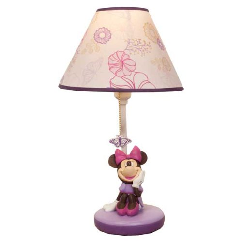 Minnie Mouse Butterfly Dreams Lamp Base & Shade - 1