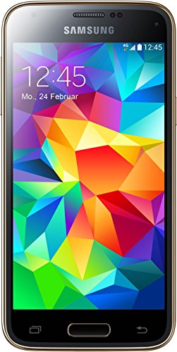 Samsung Galaxy S5 Mini G800F 16GB 4G LTE Unlocked GSM Android Phone - Gold (Samsung Galaxy S5 Mini Sd Card compare prices)