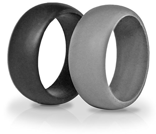 2 Silicone Wedding Rings, Tough Rings By KeepFit Are Great