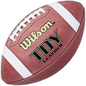 <b>Wilson Traditional Leather TDY Youth Game Ball Football</b>