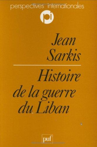 Histoire de la guerre du Liban