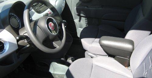 AutoStyle AR2FICIK00408 - Bracciolo in similpelle per Fiat 500 (modelli dal 2007)