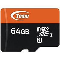 Team TUSDX64GUHS03 64GB microSDXC Card