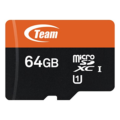 TeamGroup TUSDX64GUHS03 Carte mémoire microSD Classe 10 UHS-I 64 Go