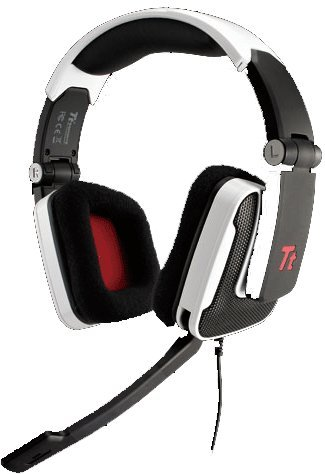 White Thermaltake Esports Shock Foldable Professional Gaming Headset,