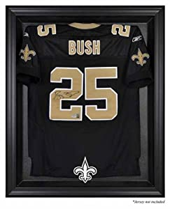 Mounted Memories New Orleans Saints Black Frame Jersey Display Case by Mounted Memories